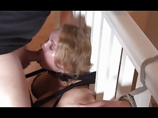 bisexual bdsm Bondage Facefuck and Pussy Licking