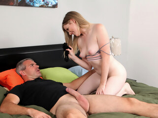 hairy big ass Nikki Sweet in Teaching Daddy A Lesson - StepSiblingsCaught