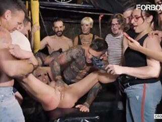 blonde big tits Sexy Rough BDSM Erotic Play For Busty Blonde