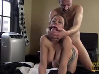 blowjob big dick Sexy UK Vicki Powell Dominated and Fed Cum