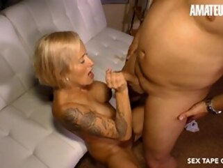 blowjob big dick Kinky Busty Blonde Cougar Drilled Hard On Cast