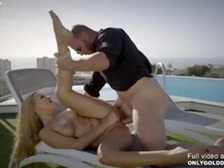 whore hardcore Sexy Alyssia Kent Penthouse Sex Outdoors