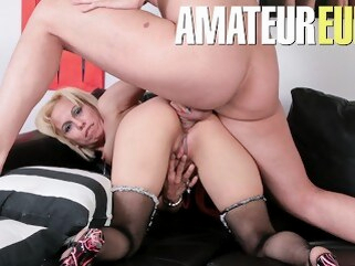 ass scambistimaturi Scambisti Maturi - Mature Slut Rough Anal On First Casting - AmateurEuro