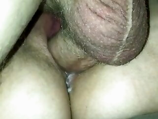 cuckold creampie I Filmed A Buddy Filling My Wife's Slutty Pussy